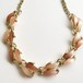 brown thermoset necklace[n-202]