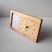 木の時計&フォトフレーム No44 | 山桜