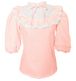 Mademoiselle blouse pinkマドモワゼル ブラウス ピンク