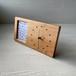 木の時計&フォトフレーム No85 | 山桜