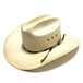 Stetson 8X Vintage Longbrim Straw Hat Natural 7 1/4