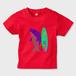 7colorsシャチTKR キッズTシャツ レッド
