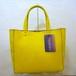 Fake Leather Mini Tote [Yellow]