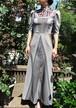 オートクチュール刺繍ワンピースドレス