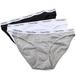 【セット】Calvin Klein Carousel Bikini 3枚セット Black/Grey/White