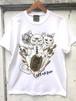 『Lucky cat』T-shirt White