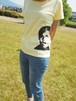 【Ladies'】ツイッギーTシャツ◇ライトイエロー