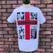 Deadstock Skinhead Red Cross T-Shirt White Medium