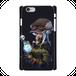 #018-001 iPhoneXS/X クール系・ロック系 《Secret plan》 カラーブラック iPhoneケース・スマホケース 全キャリア対応 作:フライ・フローライト(共作) Xperia ARROWS AQUOS Galaxy