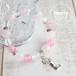 【OPEN HEART】パワーストーン ブレスレット レディース 天然石 ローズクォーツ ピンクジェイド 水晶[送料無料]