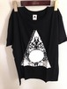 T-shirts 「Void in Flame」Black (Round-neck)