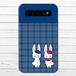 #053-007 モバイルバッテリー ウサギ 動物 うさぎ かわいい 兎 iphone スマホ 充電器 タイトル:うさぎ 作:Hanami