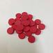 赤15mm木製ディスク(約150個)