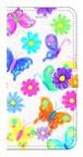 【iPhone7Plus/8Plus】Butterflies Dance 蝶のダンス 手帳型スマホケース