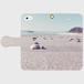 iPhone対応 手帳型オリジナルスマホケース ~Life on the Beach~ 受注生産品