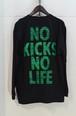 N.K.N.L NO KICKS NO LIFE 長袖Tシャツ