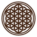 神聖幾何学図形・護符(タリズマリン)ヘナタトゥ メヘンディステンシルシールキット フラワーオブライフ(活性化)