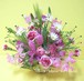 【送料無料】【愛妻の日】チューリップと季節のお花のフラワーアレンジメント(生花) FL-IS-05