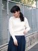 LEUCADENDRON/LCDD Knit Pullover White