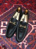 .GUCCI LEATHER HORSE BIT LOAFER MADE IN ITALY/グッチレザーホースビットローファー 2000000034911