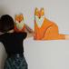 Fox craft art親子set