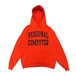 mas. - PERSONAL COMPUTER UNIVERSITY ECO FLEECE PULLOVER HOODED (Orange)