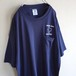 1990's [JERZEES] ポケットTシャツ ネイビー 表記(XL)