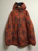 90's sanskrit nylon coat