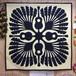 旅人の木 ハワイアンキルトパターン