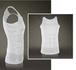 白S メンズ 加圧シャツ 補正インナー ダイエット 筋トレ 加圧タンクトップ