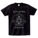 LUNA ET SOL Tシャツ(黒×銀箔)