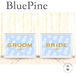 受付サイン【BluePine】