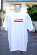 スーパーレスキュウボックスロゴ Tシャツ ホワイト