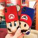 大人気 キャラクター マリオ iphoneXケース 強化ガラス original iPhone8/7 plusカバー 可愛いアイフォン7/6 ケース