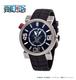 【I.T.A.】ワンピース エディション ピラータ2.0/ブラック スイスメイド腕時計