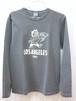 """BARNS Long Sleeve T-Shirt """"LOS ANGELES"""" BR-6616 (バーンズ ロングスリーブ Tシャツ """"ロスアンゼルス"""")"""