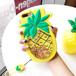 ORIGINAL パイナップル 可愛い 流砂 キラキラ 流砂 オシャレ 女の子  ブランド iPhone6携帯カバー アイフォン8プラス カバー ストラップ付き 女性向け 流れ砂