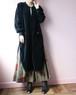 SONIA RYKIEL 80's velour dress