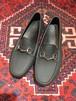 .GUCCI RUBBER HORSE BIT LOAFER MADE IN ITALY/グッチラバーホースビットローファー 2000000036991