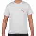 TONYBAND Tシャツ(白) ロゴ赤1(小)
