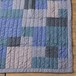 Patchwork Quilt Rug (navy)