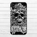#016-013 iPhoneケース スマホケース iPhoneX クール おしゃれ ロック ドクロ Xperia iPhone5/6/6s/7/8 ARROWS AQUOS Galaxy タイトル:スカル 作:nero