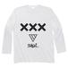 ERICH / XXX LONG SLEEVE T-SHIRT WHITE