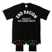 END RACISM(T-SHIRT) ブラック