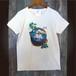 80.Tシャツ(女性M)水面シーサー
