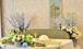 M0402) ガーデンウェディング風メインテーブル装花
