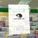 白黒猫クリアファイル-B
