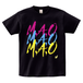 M.A.O / AGAINTS LOGO T-SHIRT BLACK