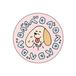 【 ベロベロ 】TOCC スタンダード犬 ラバーキーホルダー  (スペシャル・第5弾)