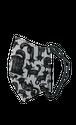 黒猫マスク【ブルーグレー】洗って繰り返し使える!